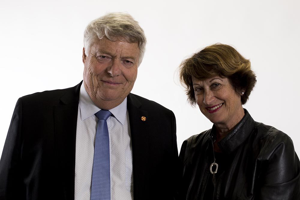 John and Leonie Hynds inducted into the NZ Business Hall of Fame